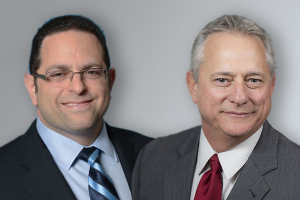 (Left to right) Joseph L. Saka, CEO of Berkowitz Pollack & Byron Hebert, Chief Growth Officer at PKF Texas