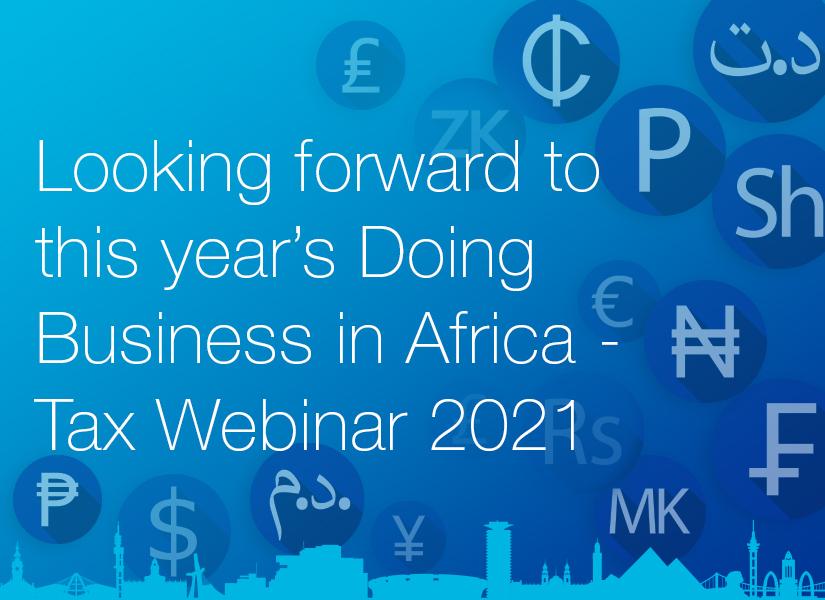 The Africa Tax Webinar