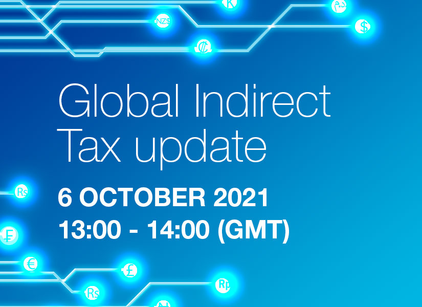 Global Indirect Tax Update - Session 1